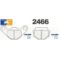 Set of front brake pads CL for Hercules GP 50 Supra 1980-1990