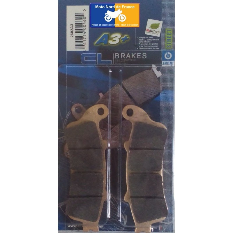 Set of pads type 2602 A3+