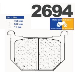 Set of pads type 2694 A3+
