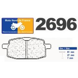 Set of pads type 2696 S4