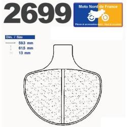 Set of pads type 2699 A3