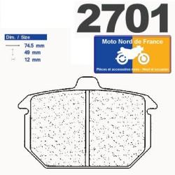 Set of pads type 2701 RX3