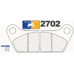 Set of pads type 2702 RX3