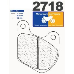 Set of pads type 2718 A3+