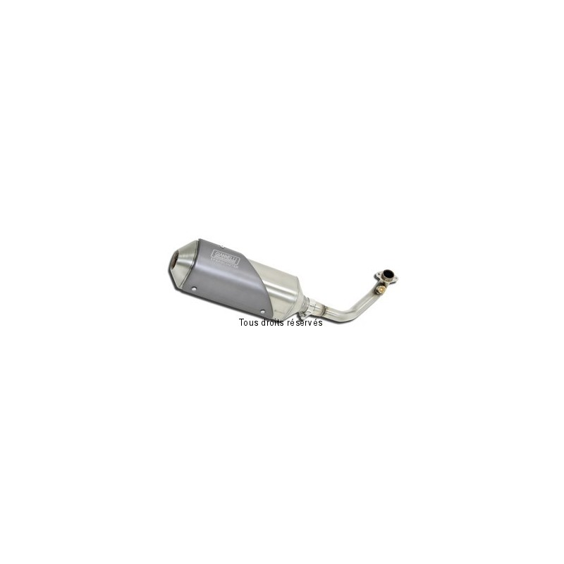 Exhaust line GIANNELLI Iperscooter for Yamaha YP 400 Majesty 2009-2013