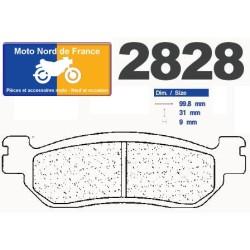 Set of pads type 2828 S4