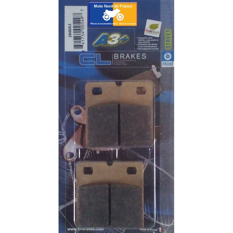 Set of pads type 2840 A3+