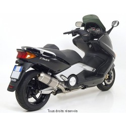 Ligne complète GIANNELLI Maxi Oval titane Yamaha XP 500 T-Max /ABS 2001-2007