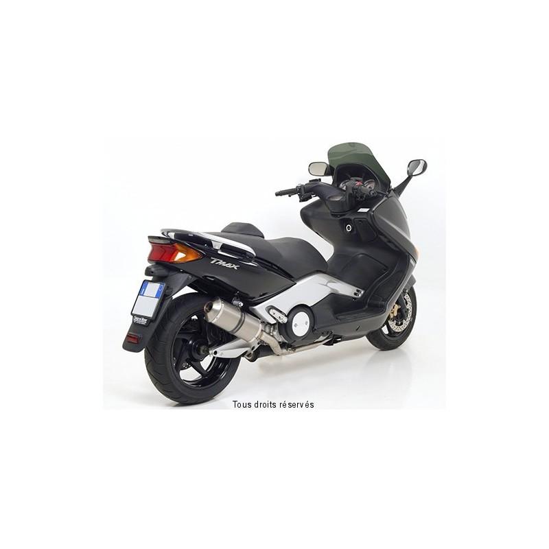 Ligne complète GIANNELLI Maxi Oval titane pour Yamaha XP 500 T-Max ABS 2004-2007