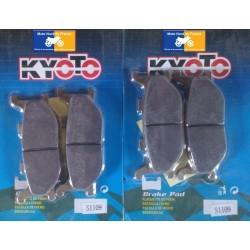 2 Sets of front pads Kyoto for MBK YP 400 Skyliner 2005-2008