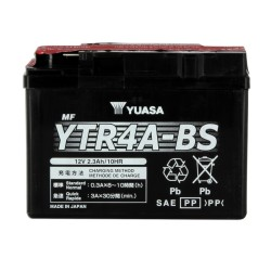 Battery YUASA type YTR4A-BS