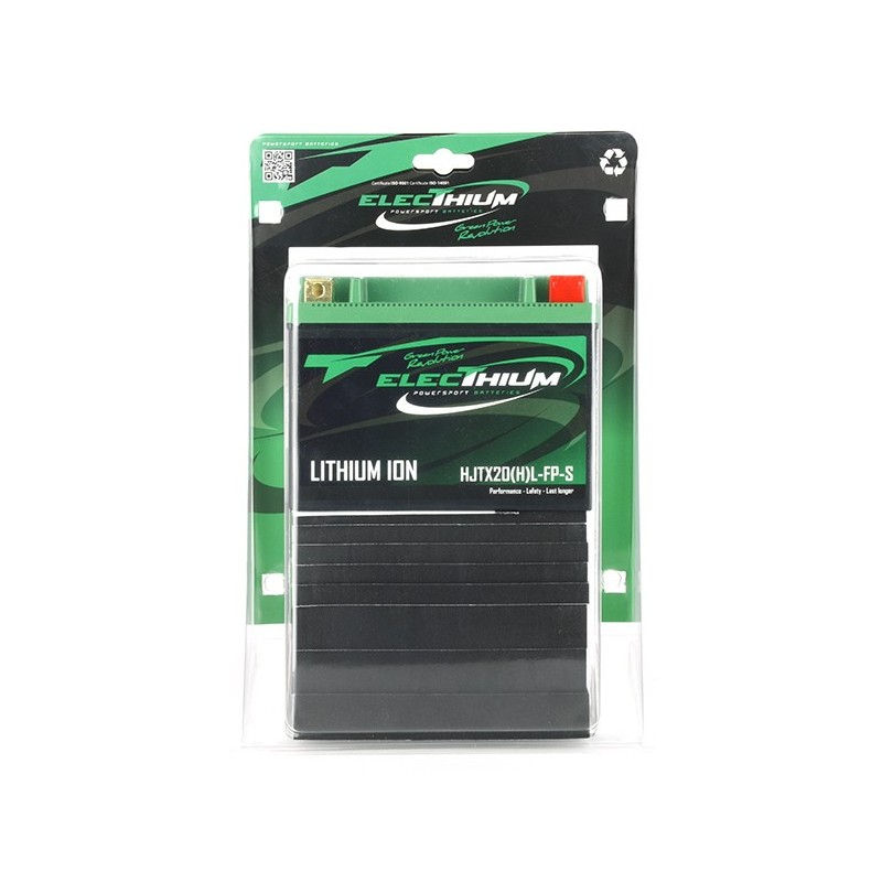 Battery lithium ElecThium type HJTX20(H)L-FP-S (YTX20L-BS, YB16AL-A2, YTX24HL-BS, YB16CL-B, YB18L-A2, Y50N18L-A2)