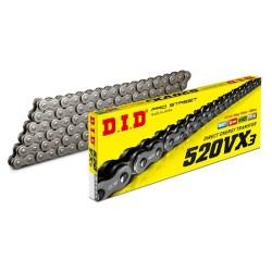 Chain DID step 520 type VX3 X-Ring Gold rivetée