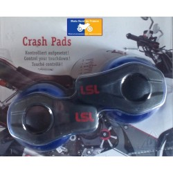 Crash pads for mounting with LSL fixation kit
