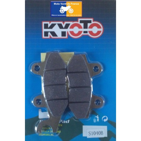 Set of front pads Kyoto for Kymco 50 Yup 2002-2005