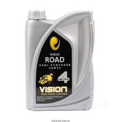 Motor oil 4 stroke semi-synthetic 20w50 1 Liter
