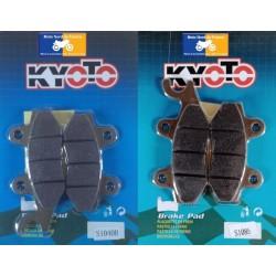 2 Jeux de plaquettes avant Kyoto pour Yamaha YFM 700 R Raptor 2006-2011