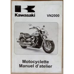 Manuel atelier Kawasaki 2000 VN 2004 - ref.00053