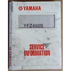 Assembly manual Yamaha YFZ450S - ref.00065