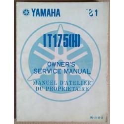 Manuel atelier Yamaha 175 IT (H) 1981 - ref.00067
