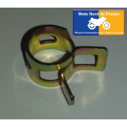 Hose clamp for exterior diameter 7 to 8 mm