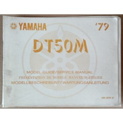 Model guide Yamaha RD 50 M 1979 - ref.00129