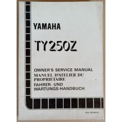 Manuel atelier Yamaha 250 TY (Z) 1994 - ref.00167