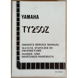 Manuel atelier Yamaha 250 TY (Z) 1993 - ref.00168