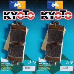 2 Sets of front pads Kyoto for Piaggio 125 MP3 Hybrid 2009-2010