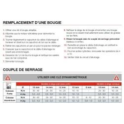 Bougie NGK type CR10EK