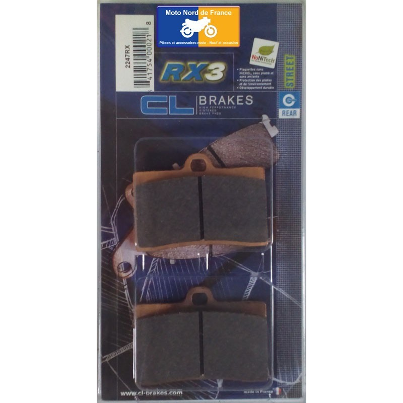 Set of pads type 2247 RX3