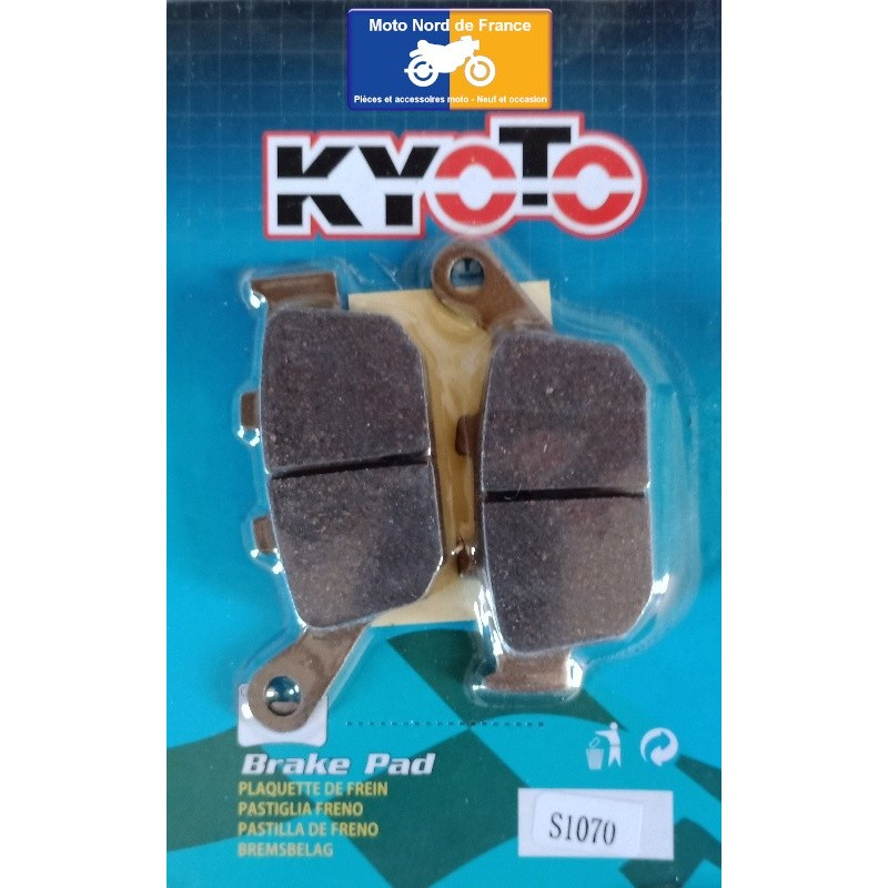 Set of rear pads Kyoto for Triumph Tiger 800 XCA 2015-2020