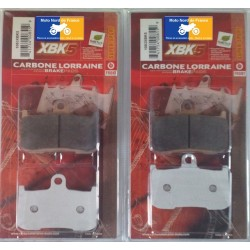2 sets of front brake pads for Victory 1731 Cross Country 2010-2017