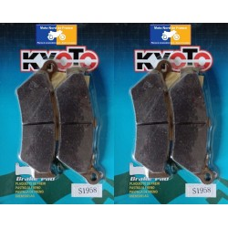 2 Sets of front pads Kyoto for Aprilia ETV 1000 Caponord 2001-2007