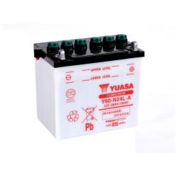 Battery YUASA type Y60-N24AL-B