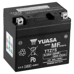 Batterie YUASA type TTZ7-S AGM prête à l'emploi