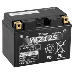 Batterie YUASA type YTZ12-S AGM prête à l'emploi