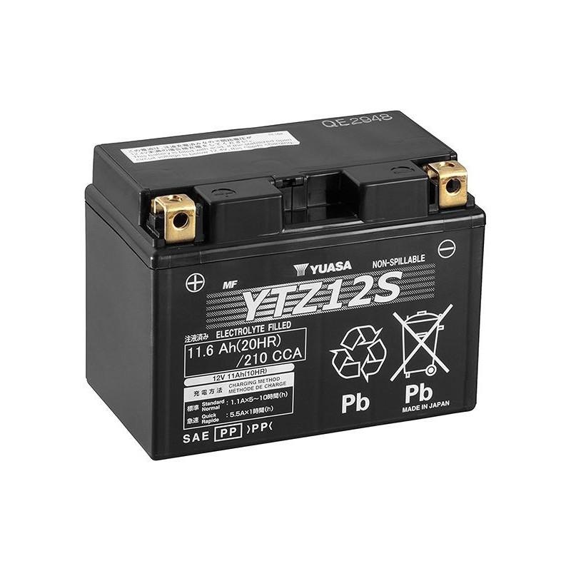 Battery YUASA type YTZ12-S AGM ready to use