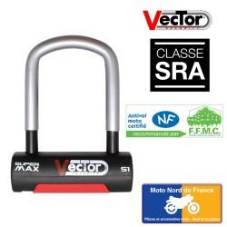 U lock VECTOR Super Max S1 - SRA - 85x130 mm inside