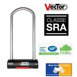 U lock VECTOR Super Max L2 - SRA - 125x320 mm inside