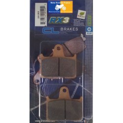 Set of rear brake pads CL for MZ 1000 S 2003-2007