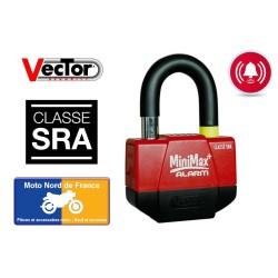 Disc lock VECTOR Minimax Alarm+ SRA approved