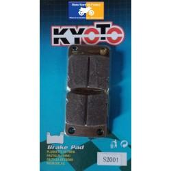 Plaquettes de frein arrière Kyoto pour Kawasaki 65 KX 2000-2019