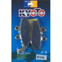 Set of front brake pads Kyoto for Sherco 50 Enduro 2008-2013