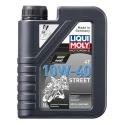 Huile moteur 4 temps 10W40 Street 1 litre