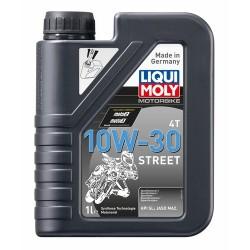 Huile moteur 4 temps 10W30 Street 1 litre