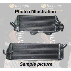 Left water radiator for Kawasaki 250 KX-F 2017-2018