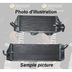 Left oversize water radiator Technium for Kawasaki 250 KX-F 2011-2016