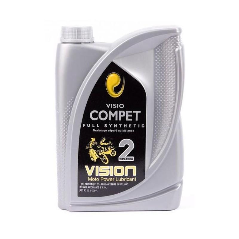 Motor oil 2 stroke Visio Compet full synthetic 1 Liter