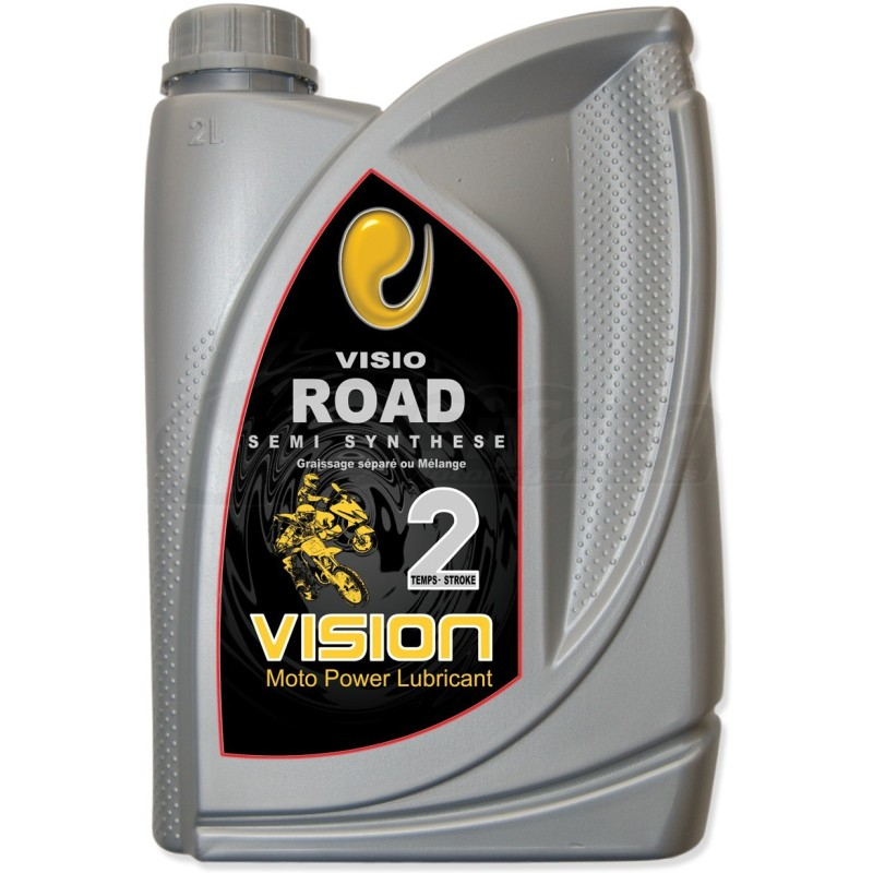 Motor oil 2 stroke semi-synthetic 2 Liters